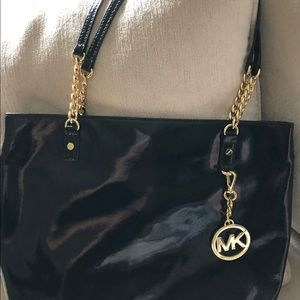 Michael Kors Bags - Michael Khors black patent leather bag
